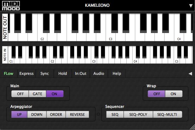 KVR: MIDIMood releases Kameleono - MIDI Multi Effect and