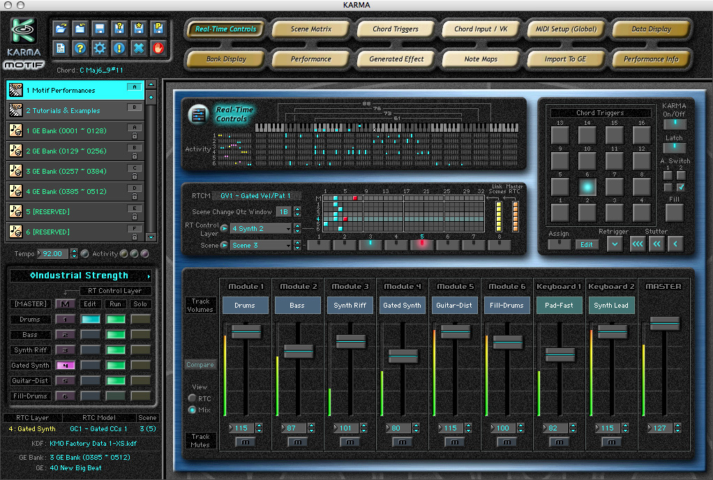 KVR: Karma-Lab releases KARMA Motif Software for the Yamaha Motif XS