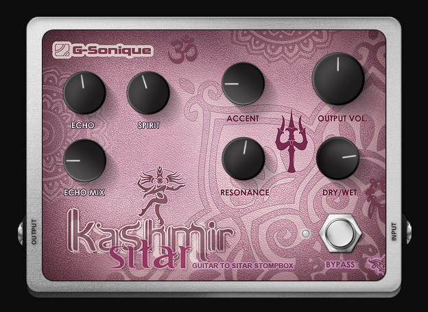 Kashmir Sitar - Guitar to Sitar VST plugin (stompbox/convertor)
