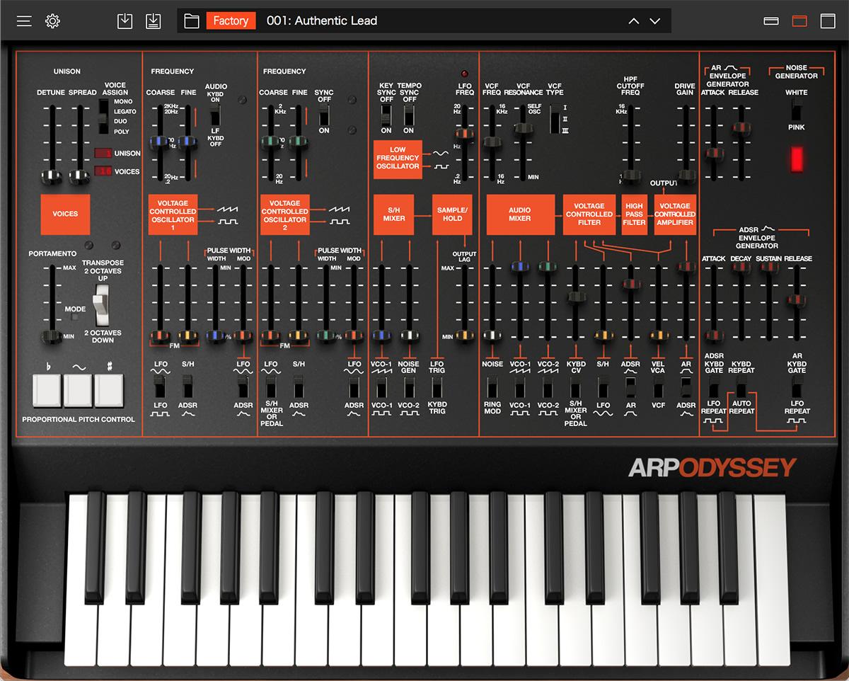Korg releases ARP Odyssey VST/AU - Gearslutz