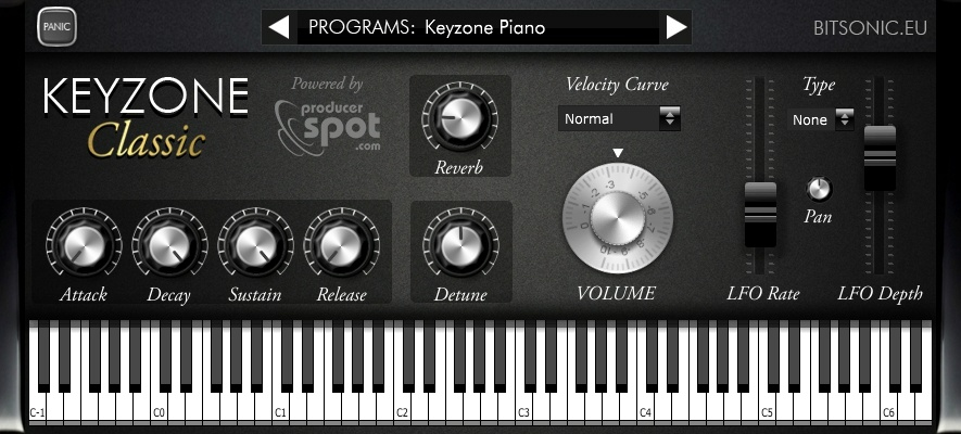 KVR: Keyzone Classic by Bitsonic - Sample Based Instrument VST
