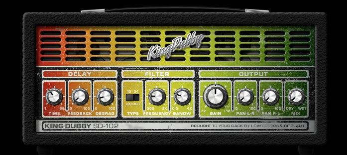 KVR: KingDubby by Lowcoders - Delay / Echo Audio Units Plugin