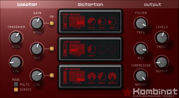 Resultado de imagen de Audio Damage Kombinat