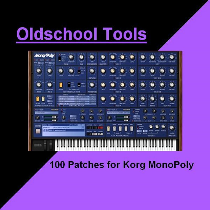 Oldschool Tools for Korg MonoPoly