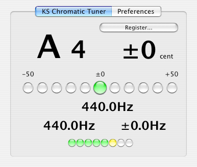 KS Chromatic Tuner AU