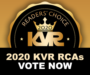 KVR Audio Readers' Choice Awards 2020 - Voting Open