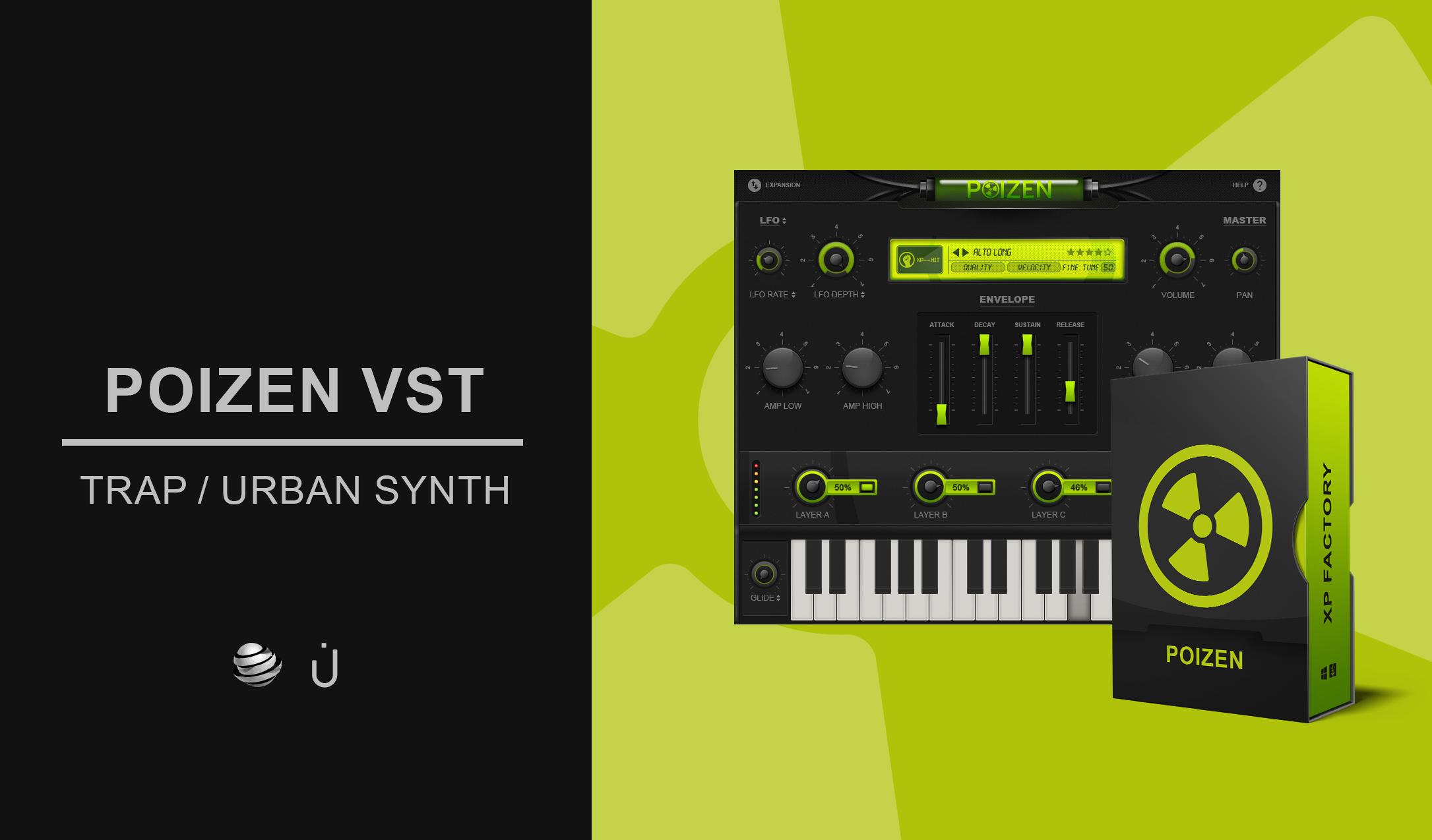 KVR: Poizen by Thenatan - Trap VST Plugin, Audio Units