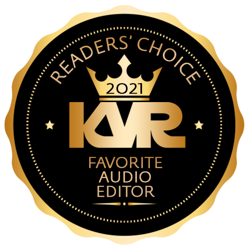 Favorite Audio Editor - Best Audio and MIDI Software - KVR Audio Readers' Choice Awards 2021