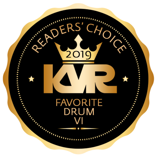 Favorite Drum Virtual Instrument - KVR Audio Readers' Choice Awards 2019