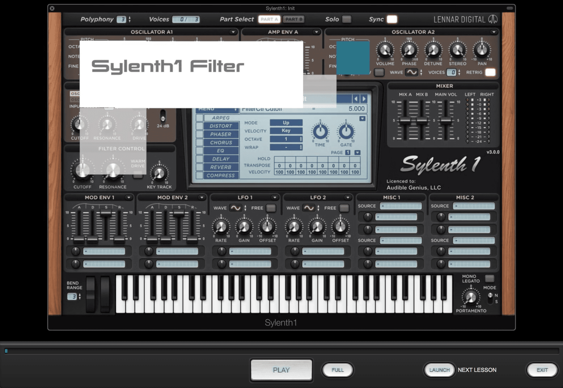 Sylenth1 Lesson Pack for Syntorial