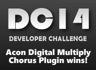 #KVRDC14: Acon Digital Multiply Chorus AU, AAX & VST Plugin Effect for Mac OS X & Windows wins the KVR Developer Challenge 2014