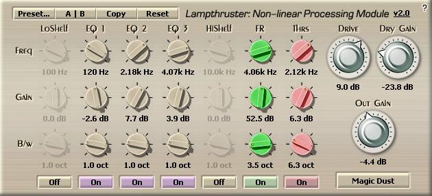Lampthruster