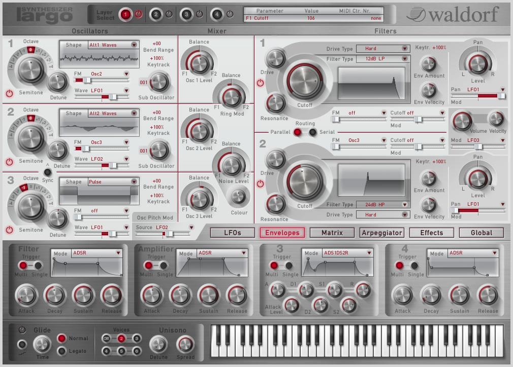 KVR: Largo by Waldorf - Synth (Wavetable) VST Plugin, Audio Units