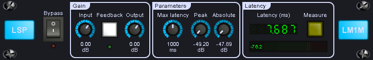 LSP Latency Meter plugin