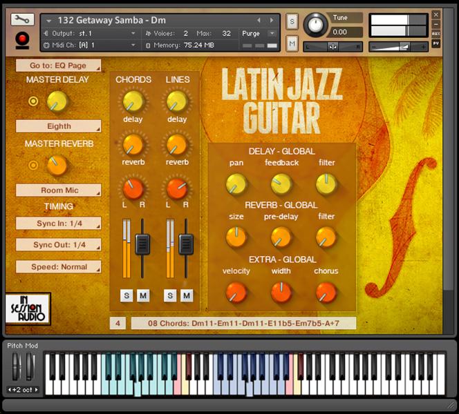 Kvr In Session Audio Releases Latin Jazz Guitar For Kontakt Wav