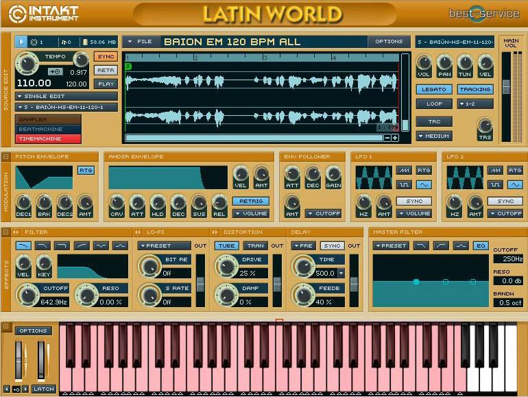 KVR: Latin World by Best Service - Latin Module VST Plugin, Audio