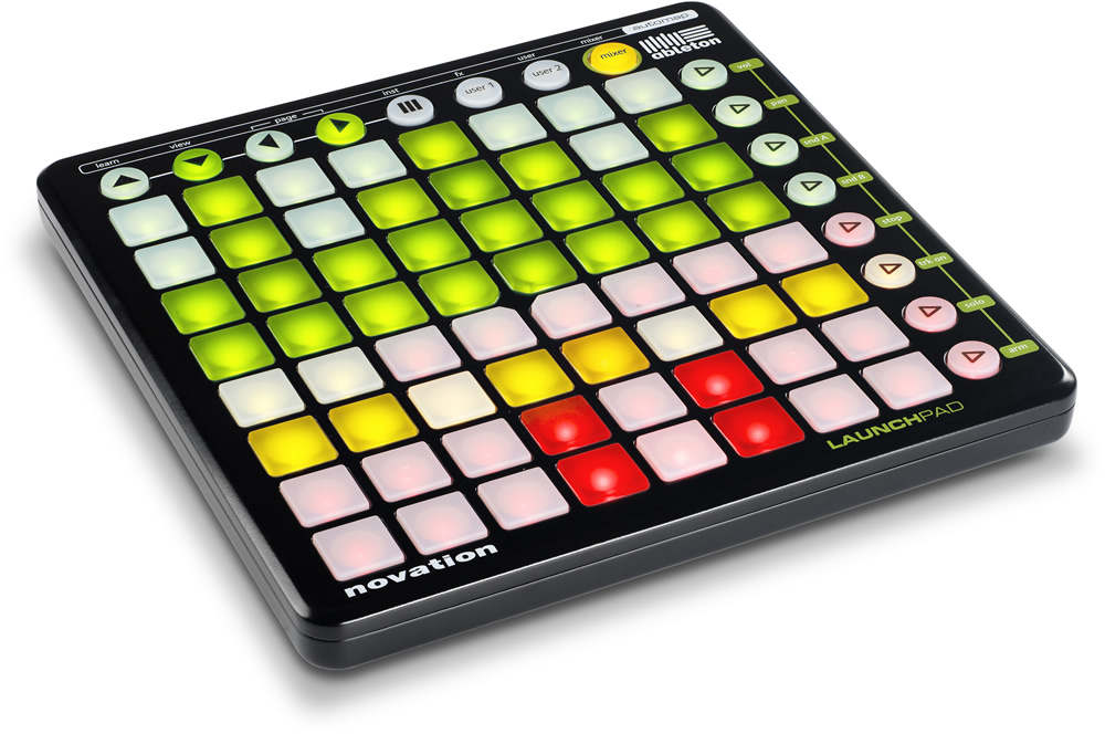 kvr novation releases launchpad interactive controller for ableton live others. Black Bedroom Furniture Sets. Home Design Ideas