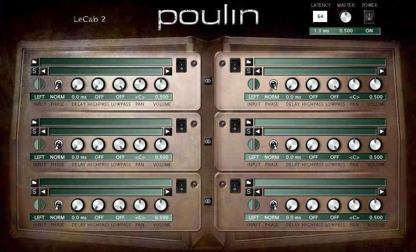 KVR: Poulin LeCab2 by LePou Plugins - Distortion / Overdrive
