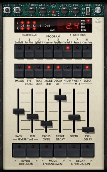 KVR: Lexicon 224 Digital Reverb by Universal Audio - Reverb