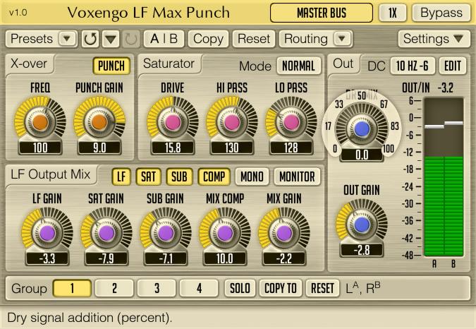 LF Max Punch