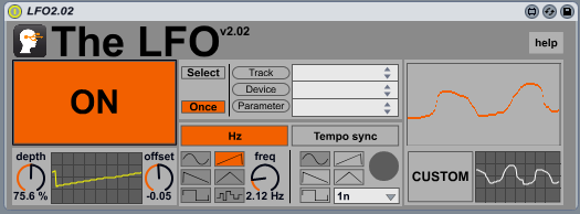 The LFO for Ableton Live