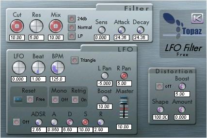 LFO Filter Free