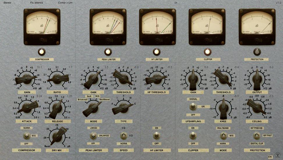Kvr Limiter No6 By Vladg Sound Mastering Limiter Vst