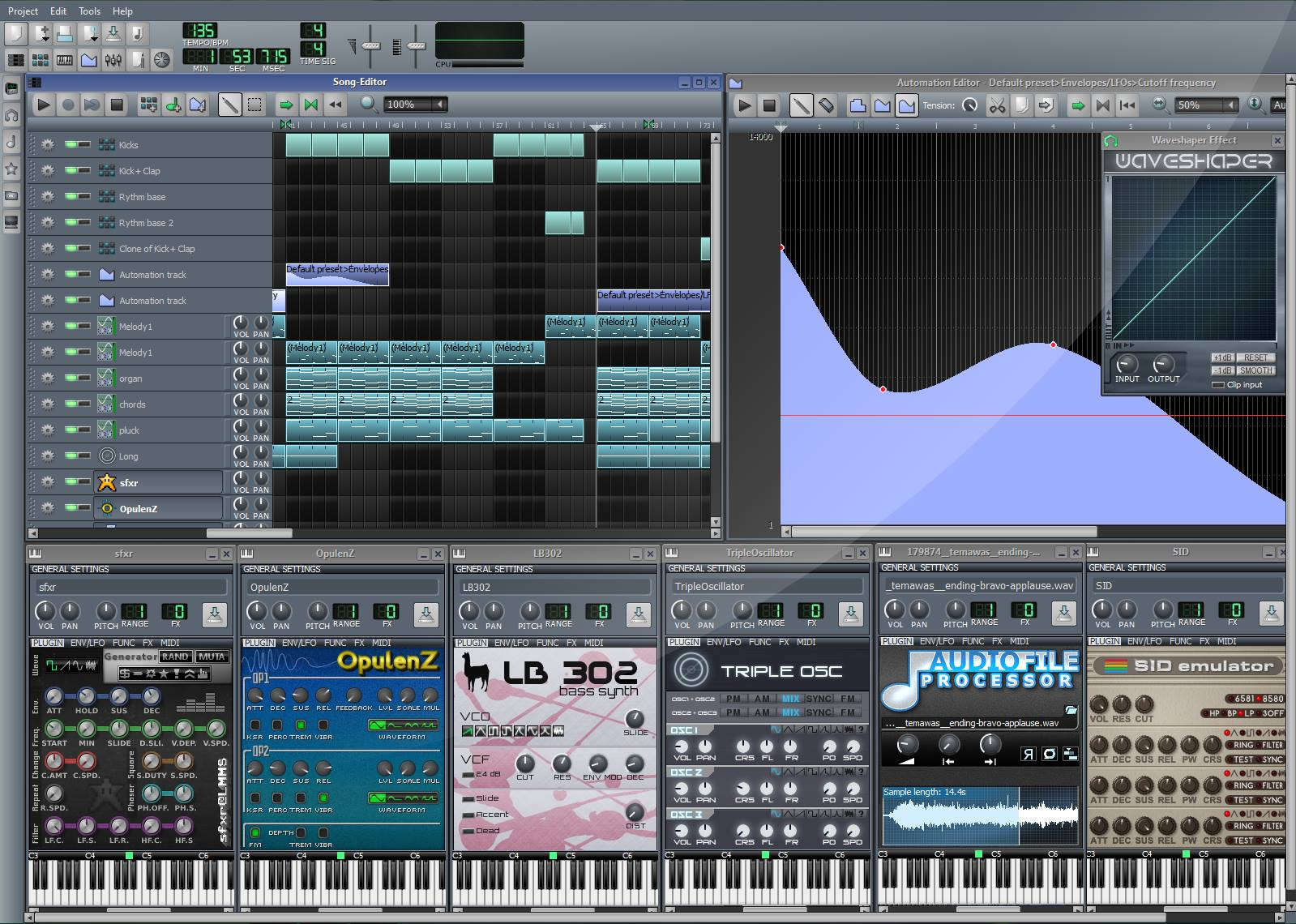 Linux MultiMedia Studio (LMMS)           by LMMS Discussion