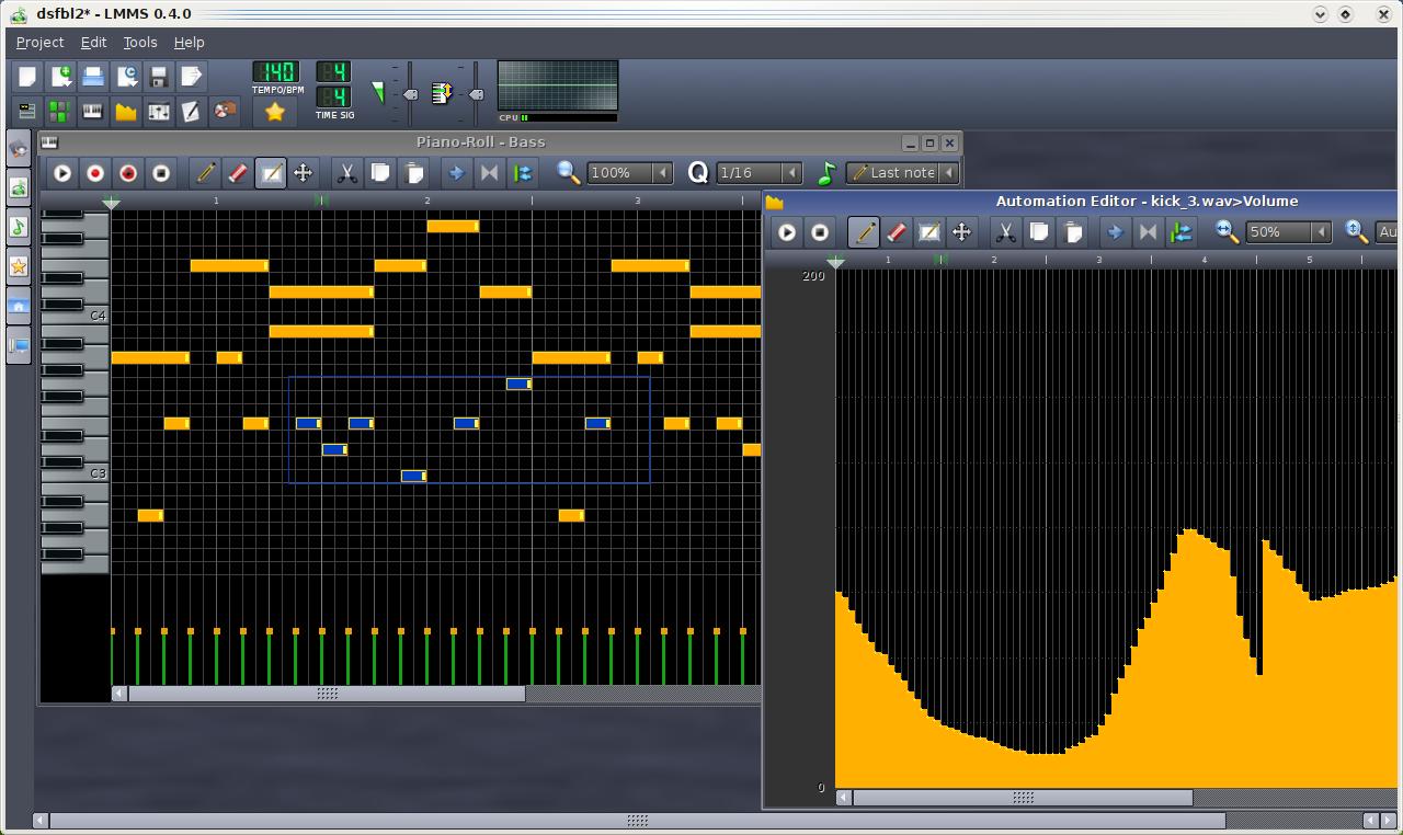 Kvr linux multimedia studio v0 4 4 released for Salon multimedia