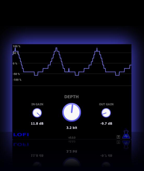 KVR: LoFi by BlueLab   Audio Plugins - Bitcrusher VST Plugin, Audio