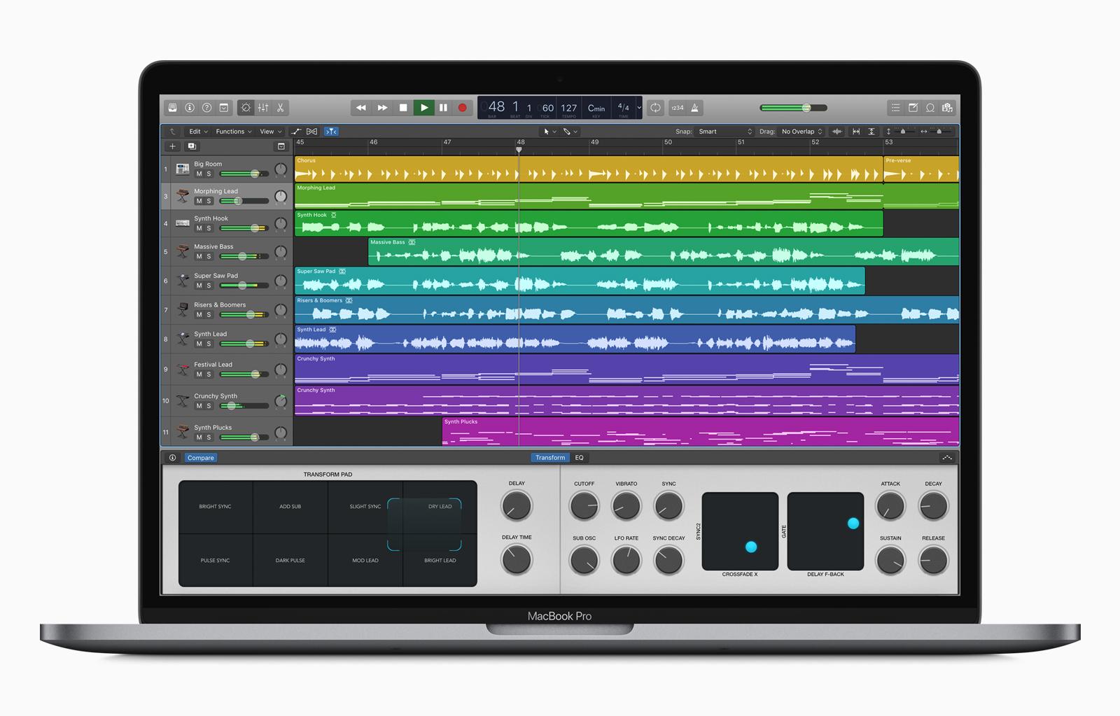 KVR: Apple updates Logic Pro X to v10 3 and GarageBand for iOS to v2