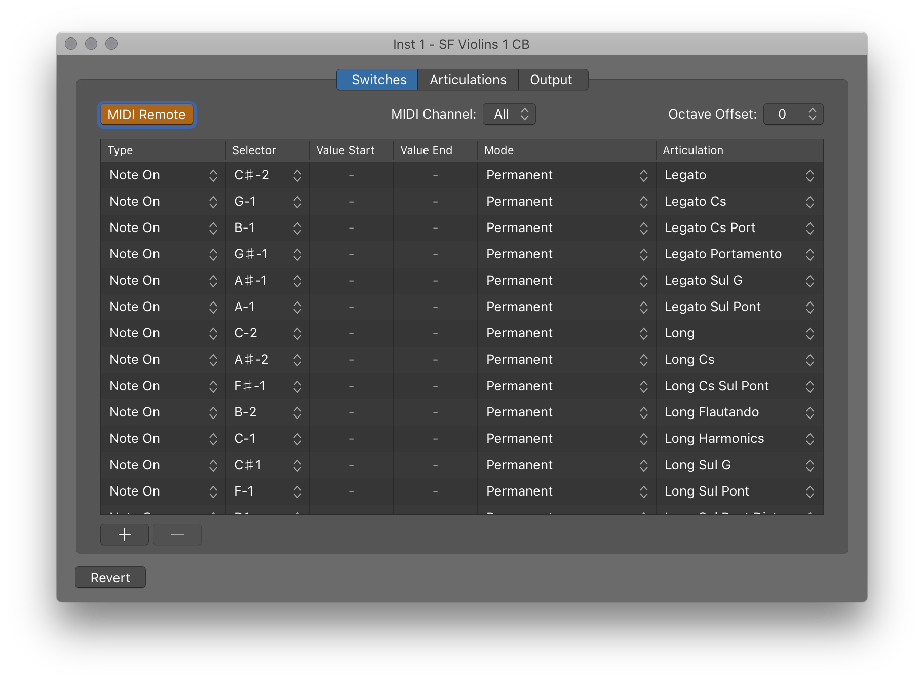 Art Conductor Articulation Sets for Logic Pro X 10.4