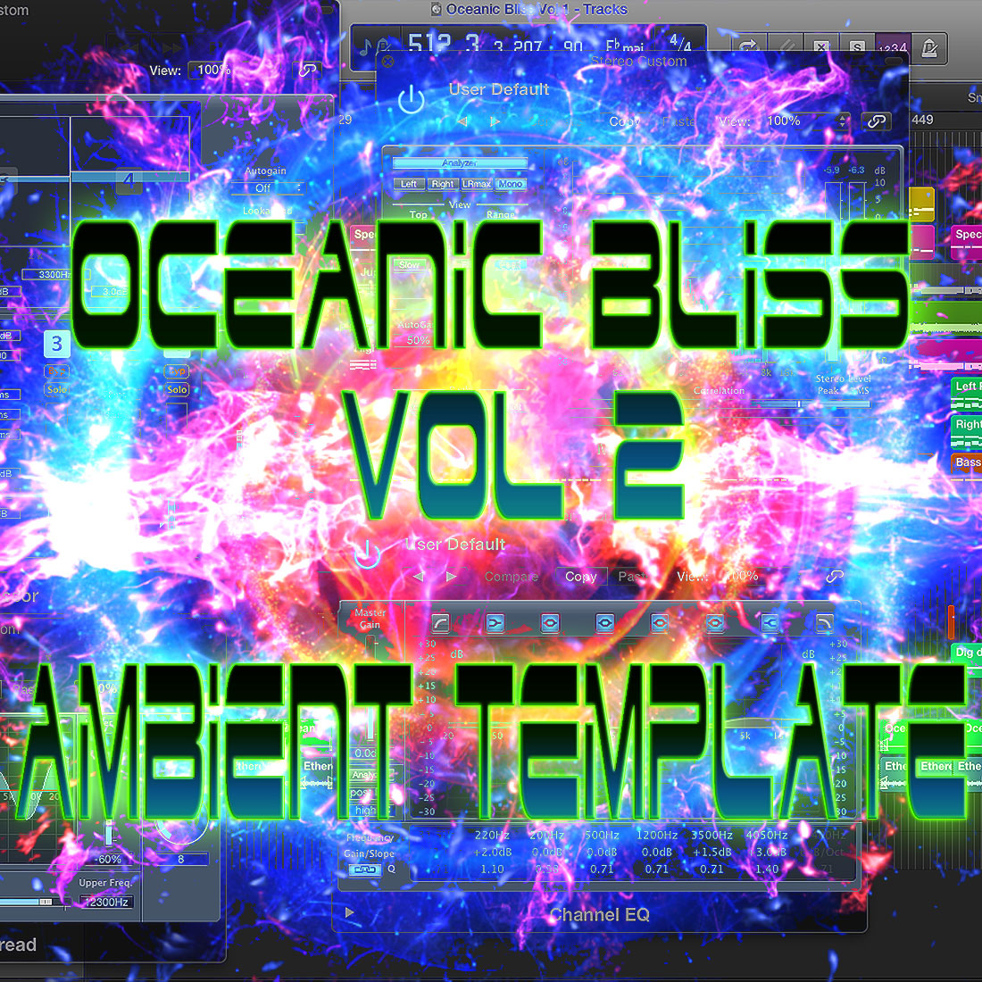 Oceanic Bliss Logic Pro X Ambient Template