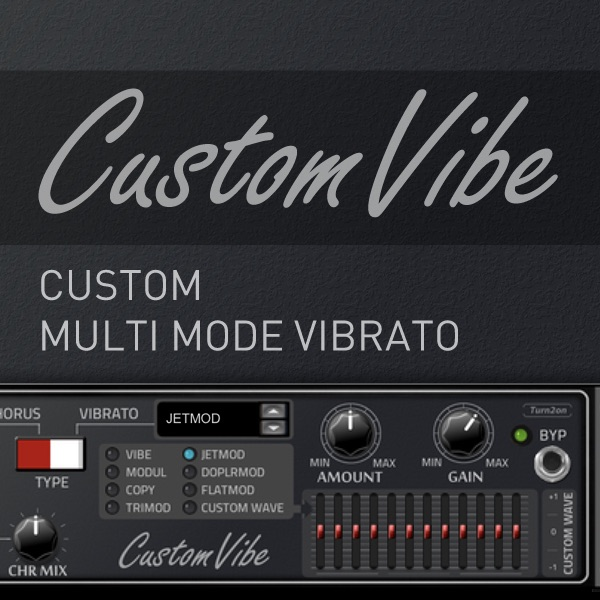 CustomVibe Multi Vibrato Effect
