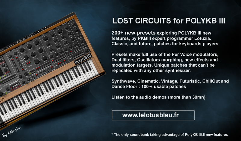 Lost Circuits for PolyKB III