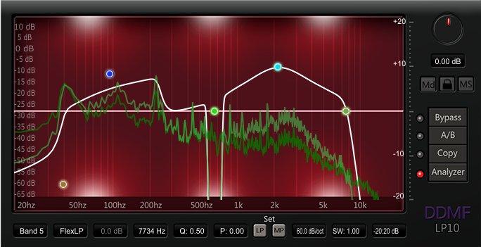KVR: LP10 by DDMF - EQ VST Plugin, Audio Units Plugin, RTAS