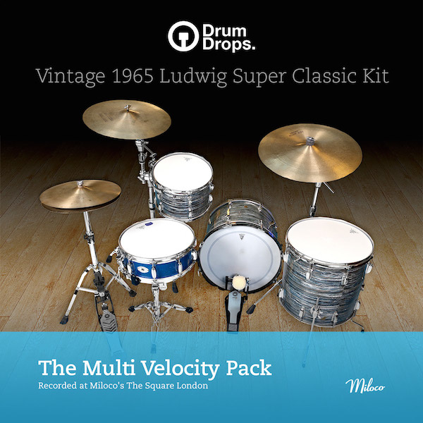 Ludwig Super Classic Kit - Multi-Velocity pack