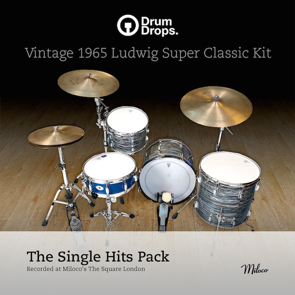 Ludwig Super Classic Kit - Single Hits pack