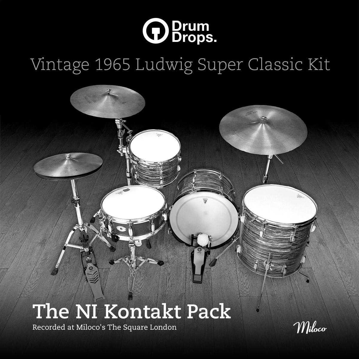 Ludwig Super Classic Kit - Kontakt Pack