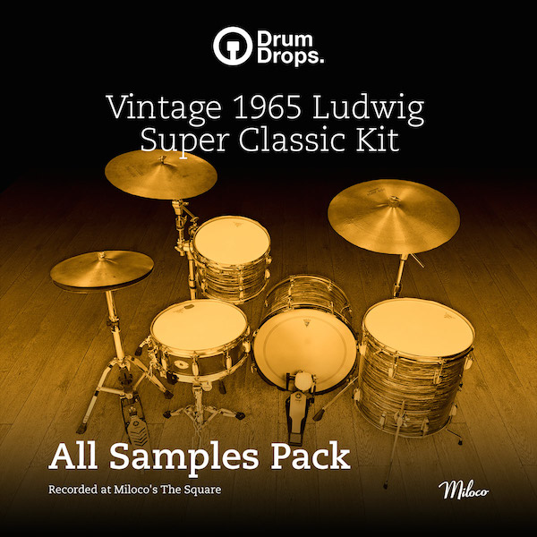 Ludwig Super Classic Kit - All Samples Pack