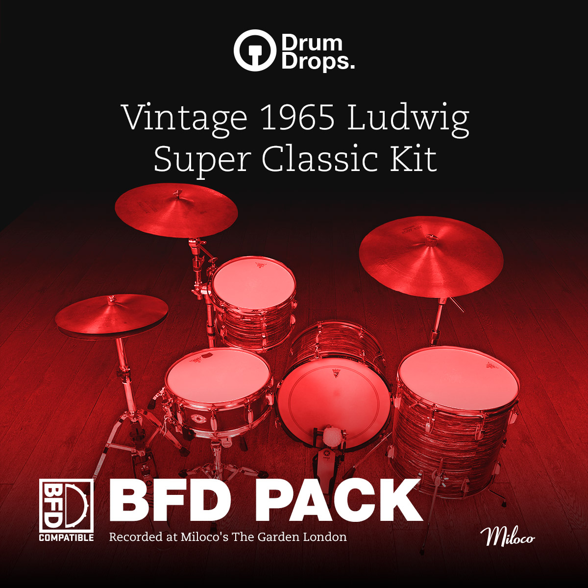 Ludwig Super Classic Kit - BFD Pack