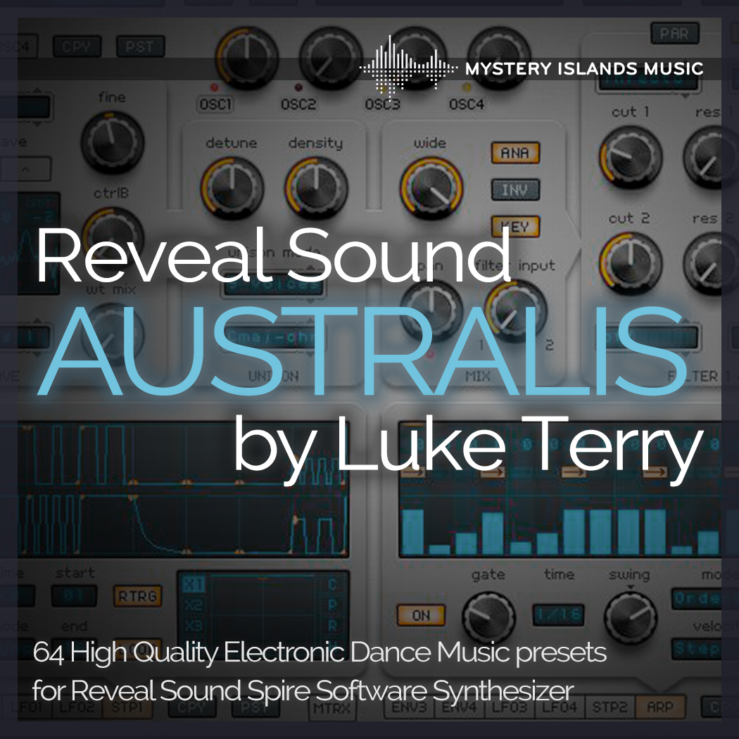 Luke Terry Australis Reveal Sound Spire Soundset