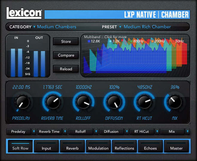 LXP Native Reverb