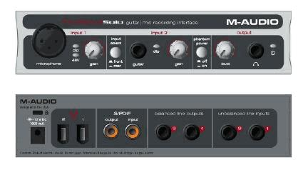 kvr firewire solo by m audio audio interface