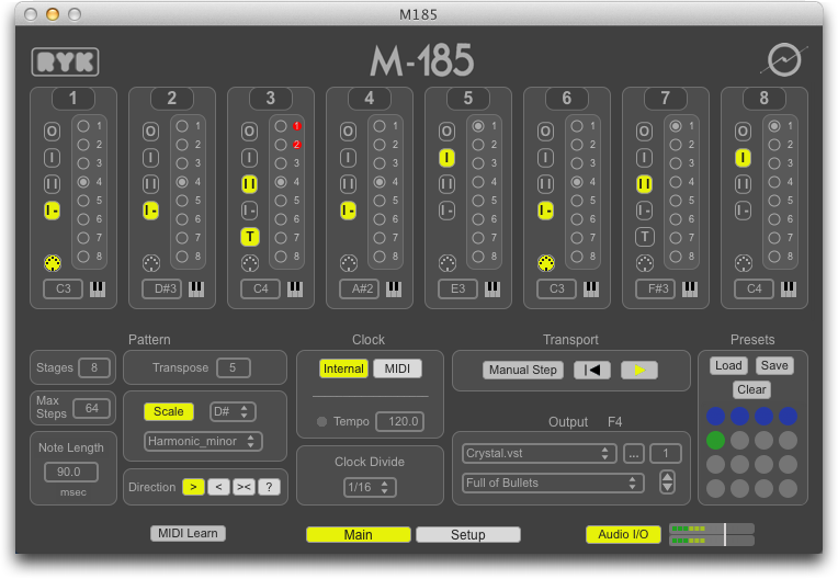 M185 Step Sequencer