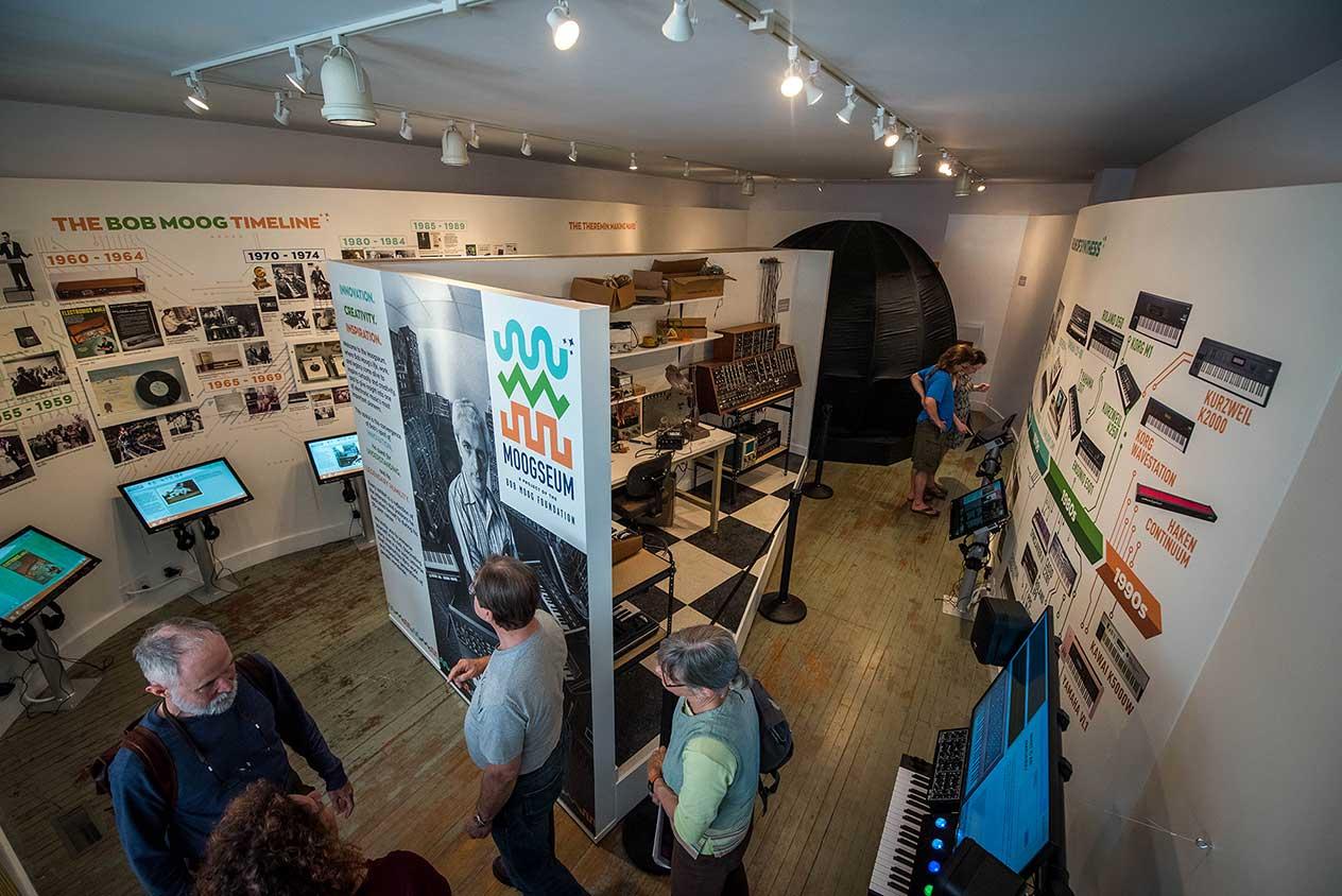 Mackie donates Loudspeakers and Headphones to Bob Moog Foundation