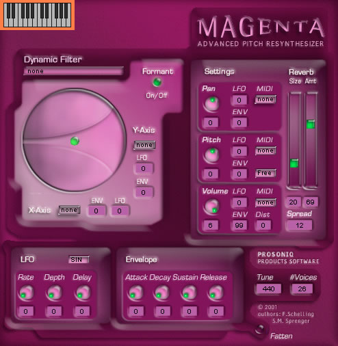real time resynthesis magenta