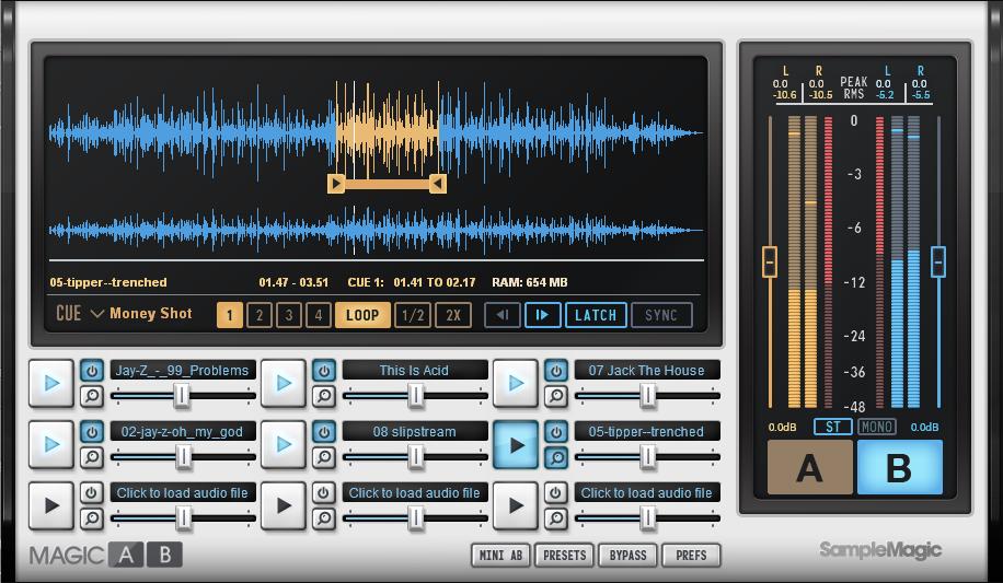 KVR: Magic AB by Sample Magic - Referencing Tool VST Plugin, Audio