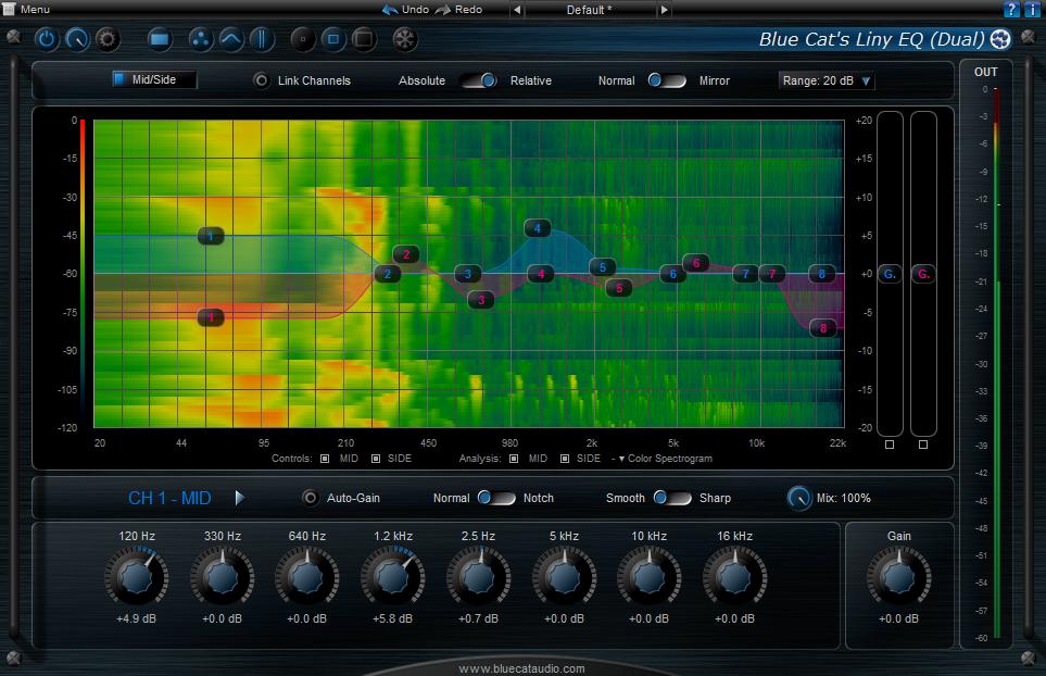 KVR: Buy Blue Cat Audio Blue Cat's Liny EQ at the KVR Marketplace (EQ)