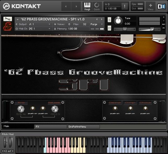 '62 Pbass GrooveMachine - SP1